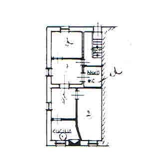 Appartamento in vendita, rif. 02363 (Planimetria 2/2)