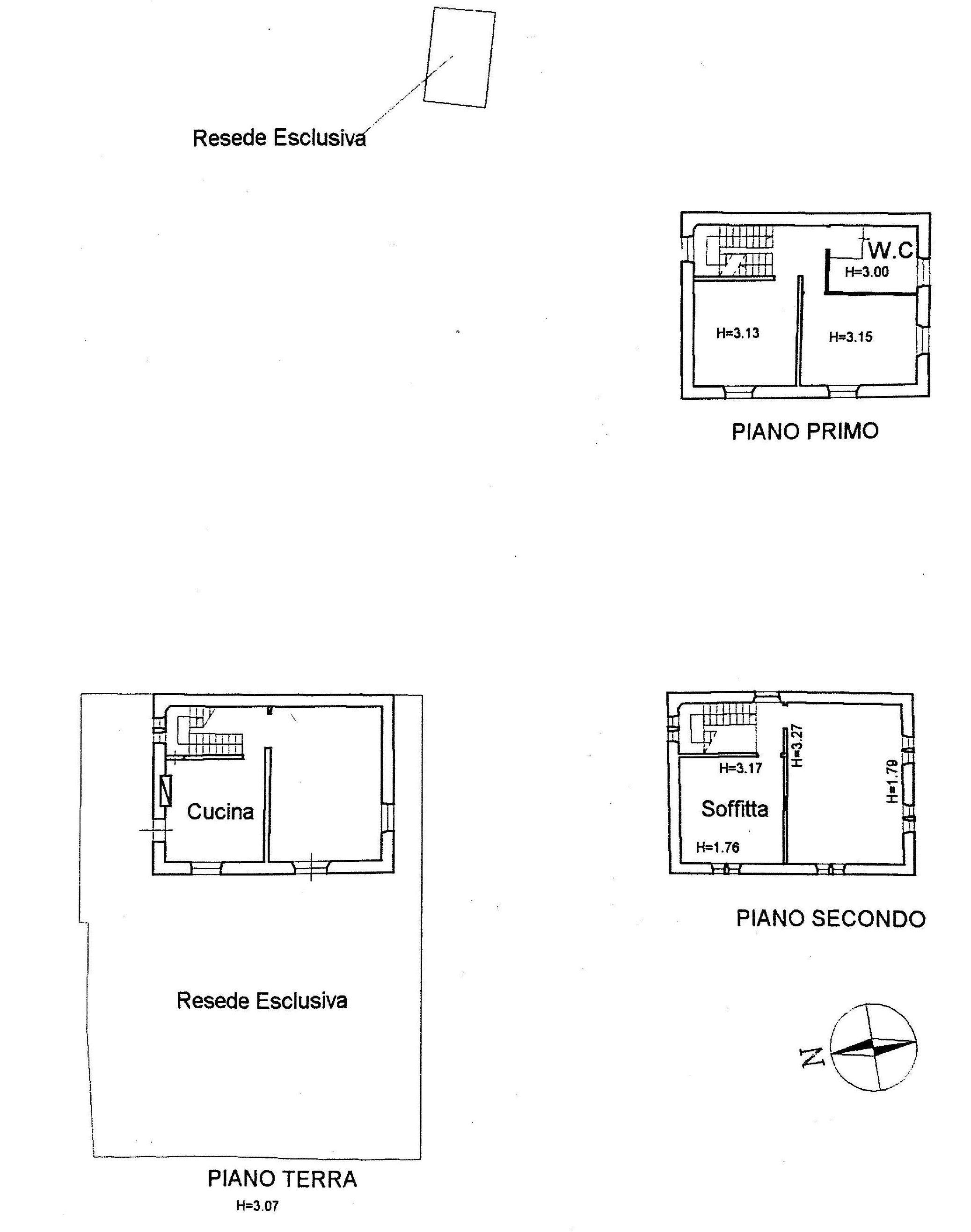 Casa singola in vendita, rif. 02370 (Planimetria 1/1)