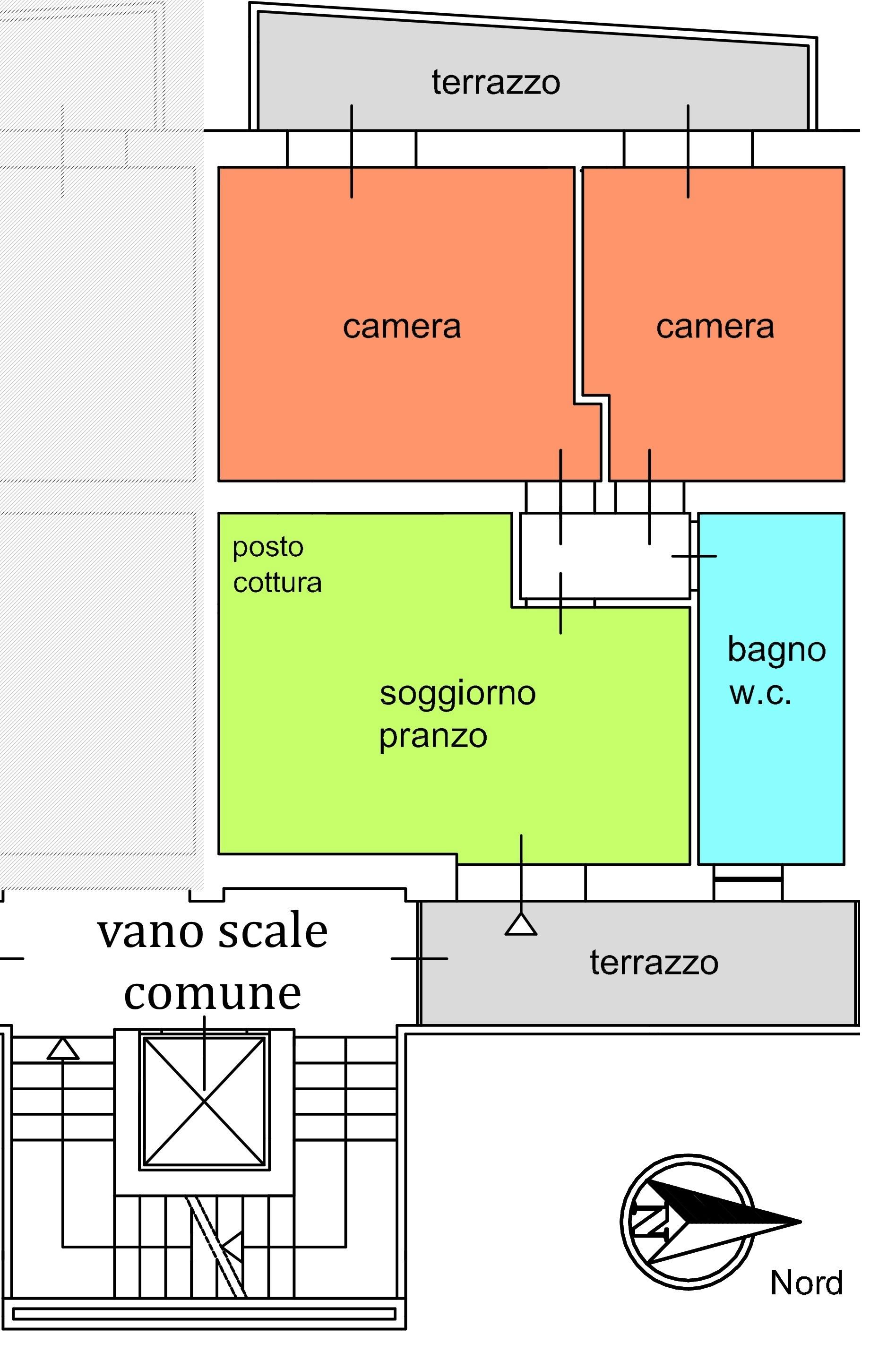 Appartamento in vendita, rif. 02371 (Planimetria 1/1)
