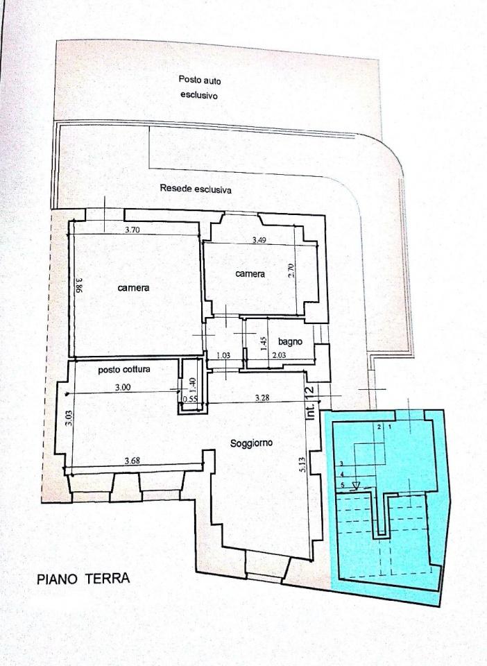 Appartamento in vendita, rif. 02375 (Planimetria 1/1)