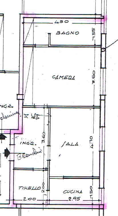 Appartamento in vendita, rif. 02379 (Planimetria 1/1)