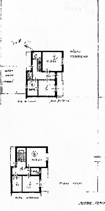 Villetta bifamiliare in vendita, rif. 02385 (Planimetria 1/1)