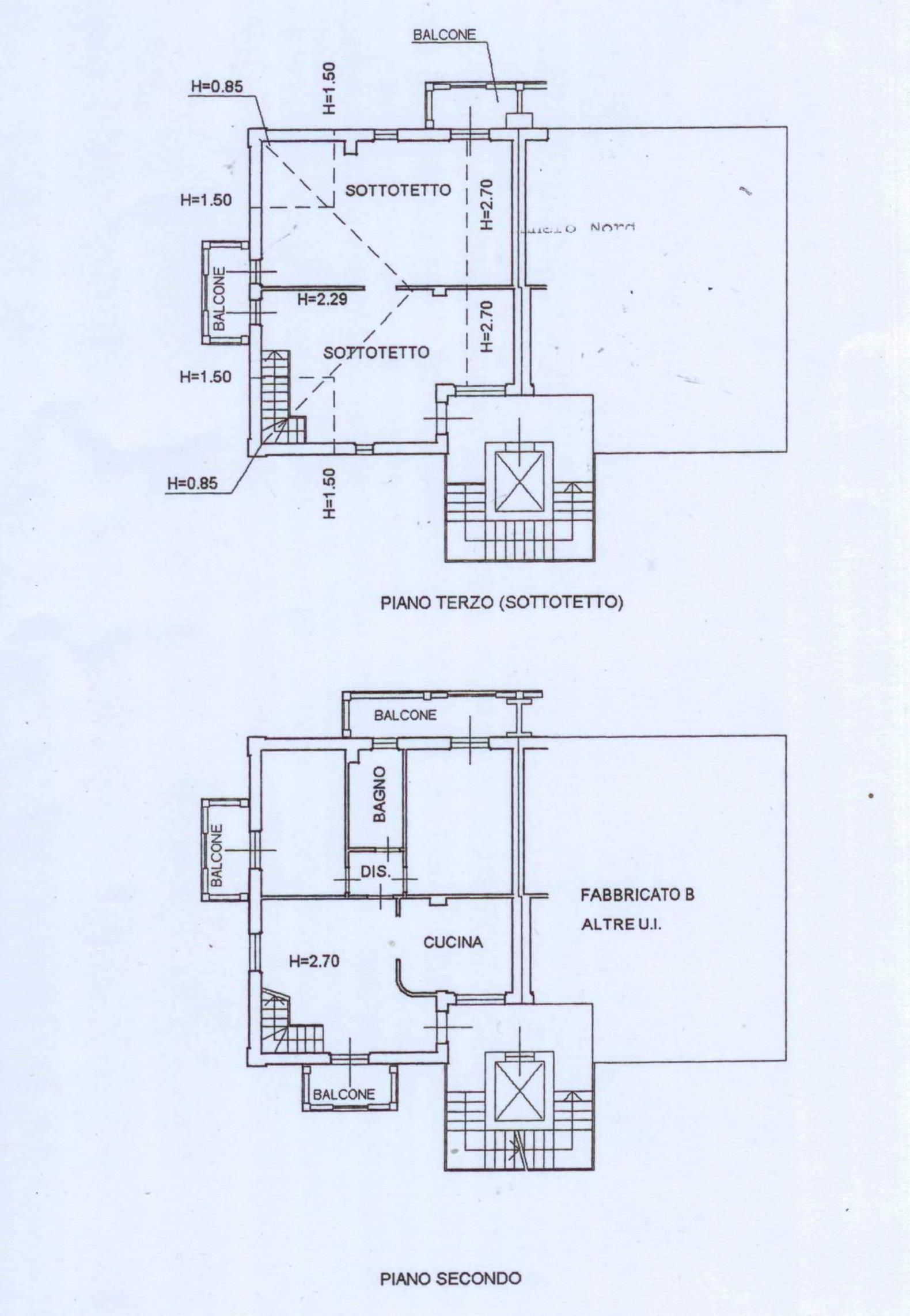 Appartamento in vendita, rif. 02386 (Planimetria 1/1)