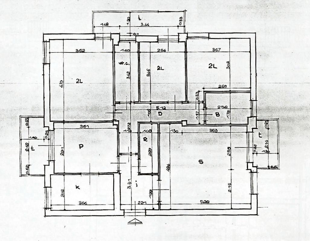 Appartamento in vendita, rif. 02406 (Planimetria 1/1)