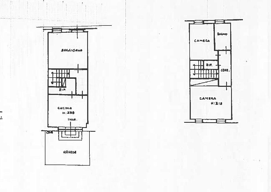 Terratetto in vendita, rif. 02409 (Planimetria 1/1)