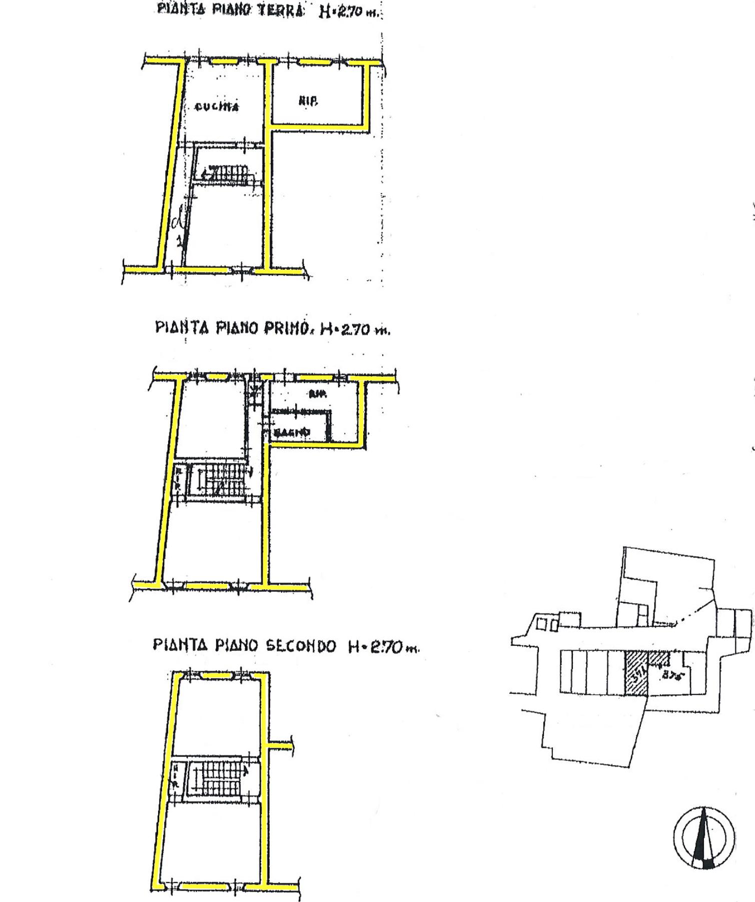Terratetto in vendita, rif. 02411 (Planimetria 1/1)