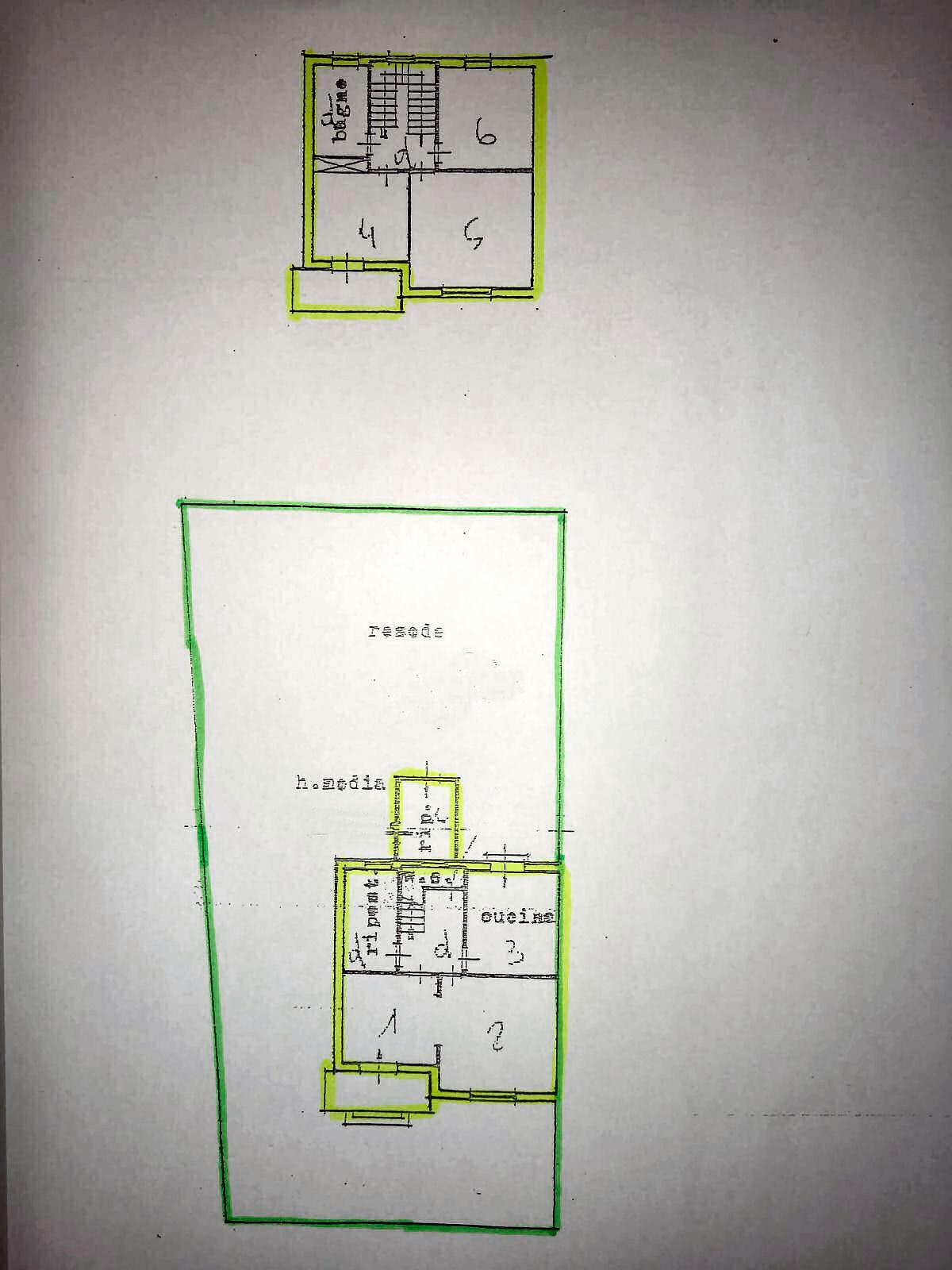 Villetta bifamiliare in vendita, rif. 02420 (Planimetria 1/1)