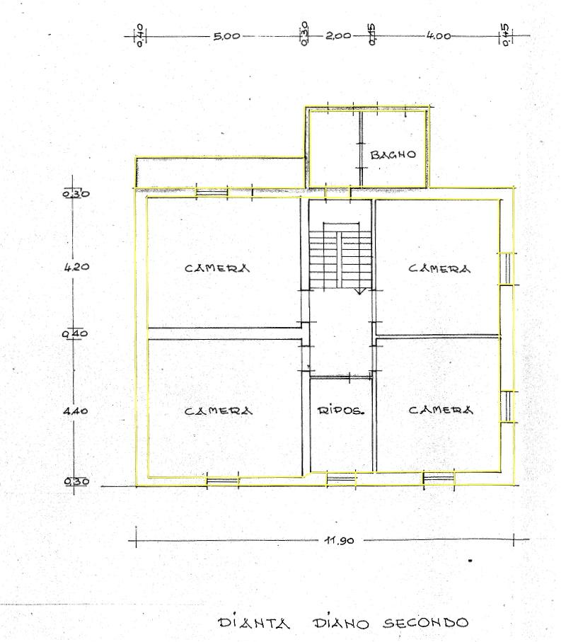 Terratetto in vendita, rif. 02422 (Planimetria 3/3)
