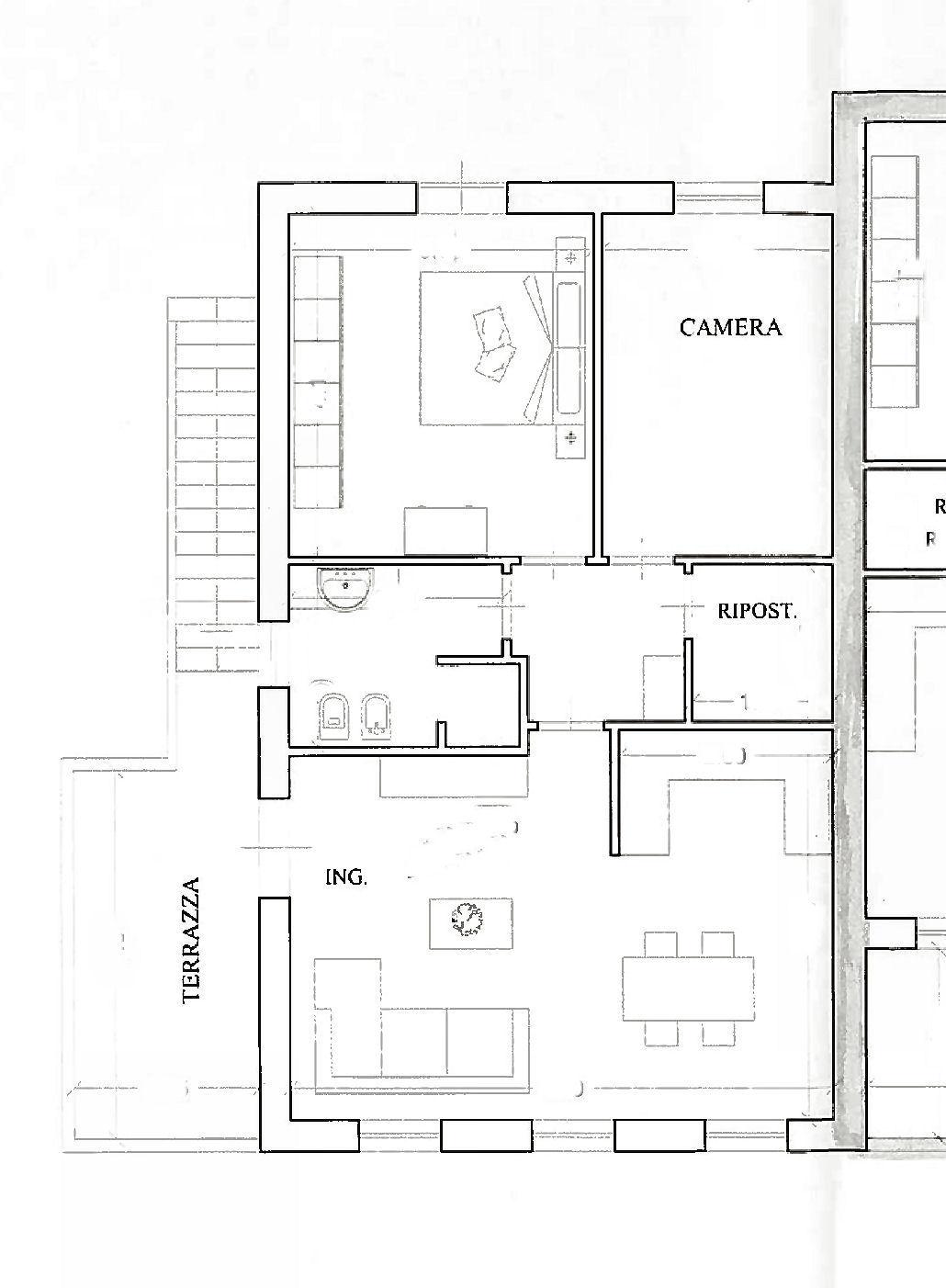 Appartamento in vendita, rif. 02426 (Planimetria 1/1)