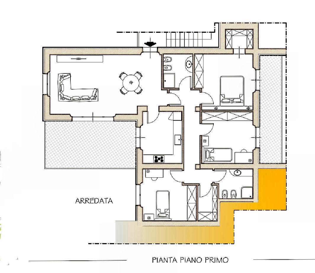 Appartamento in vendita, rif. 02434 (Planimetria 1/1)