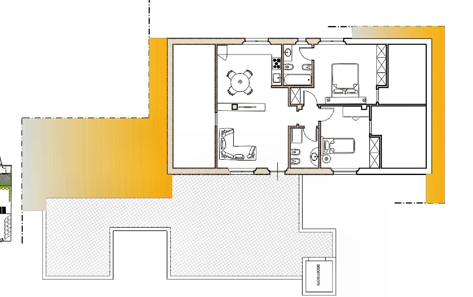 Appartamento in vendita, rif. 02438 (Planimetria 1/1)