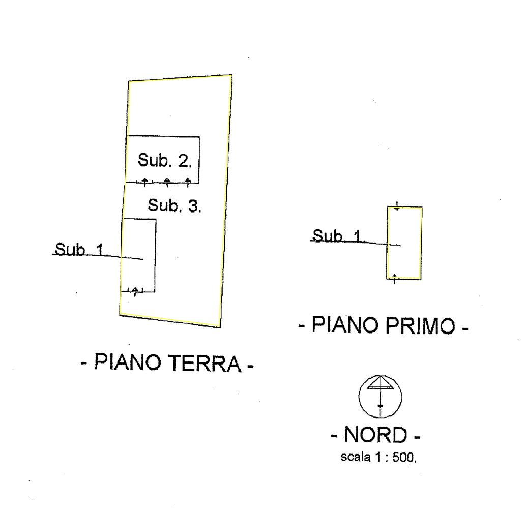 Rustico in vendita, rif. 02447 (Planimetria 2/4)