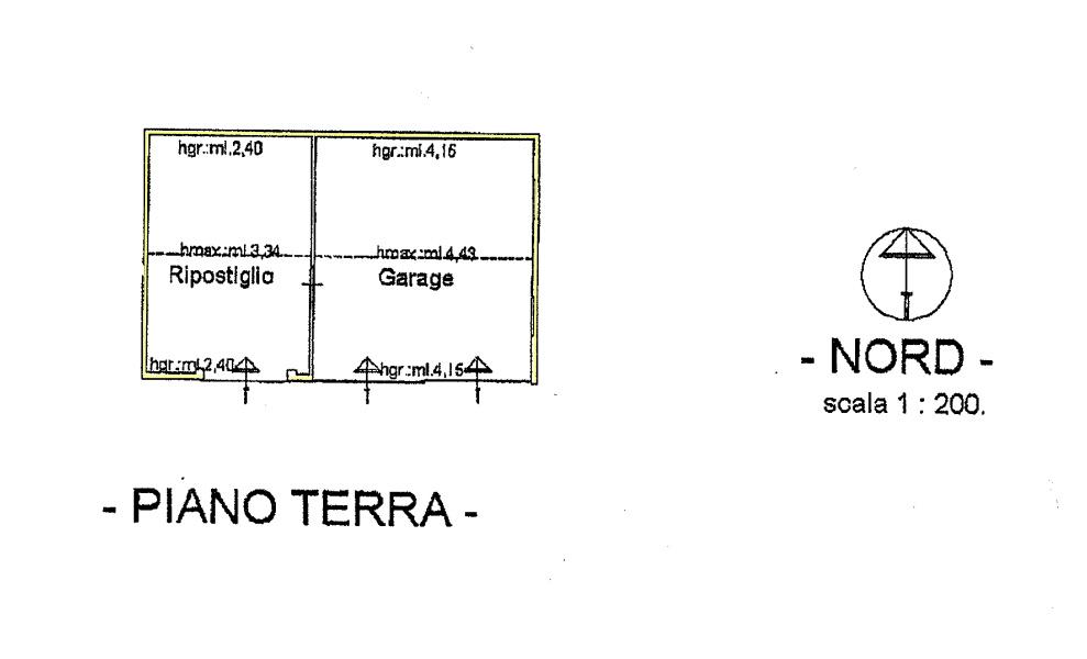 Rustico in vendita, rif. 02447 (Planimetria 4/4)