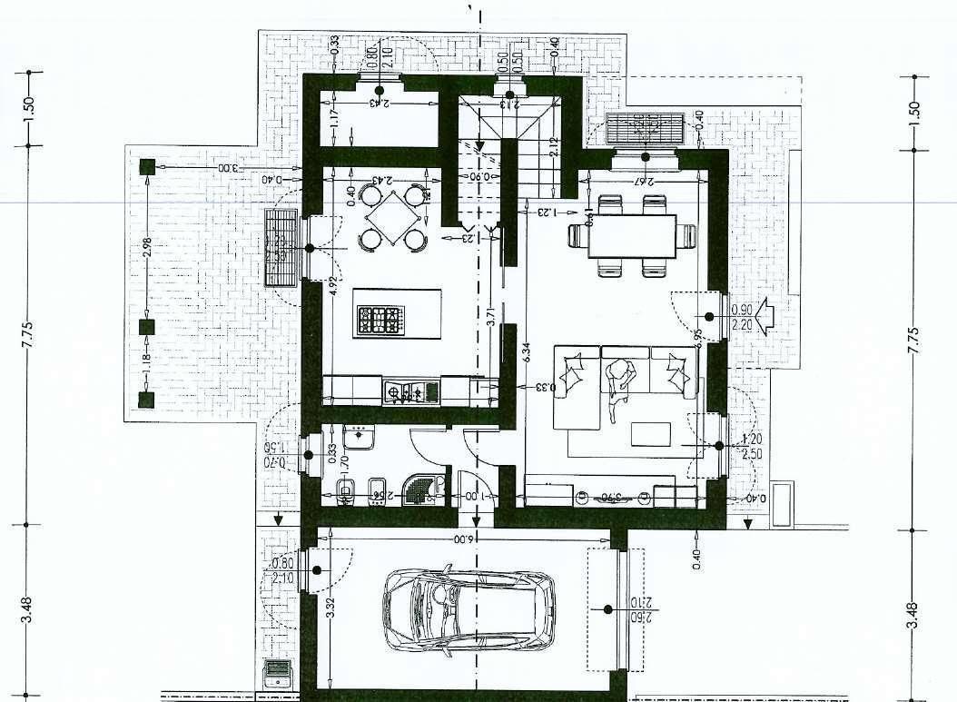 Villetta bifamiliare in vendita, rif. 02454 (Planimetria 3/3)