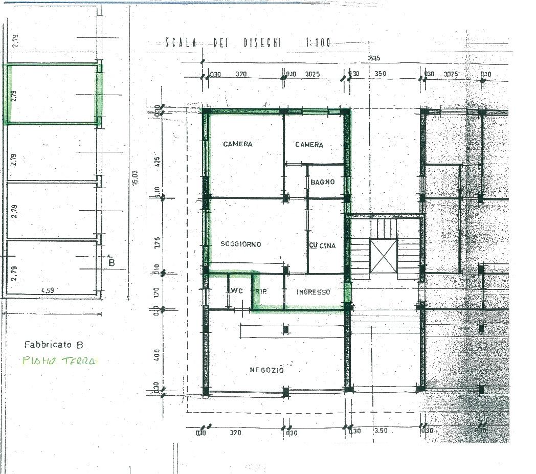 Appartamento in vendita, rif. 02465 (Planimetria 1/1)