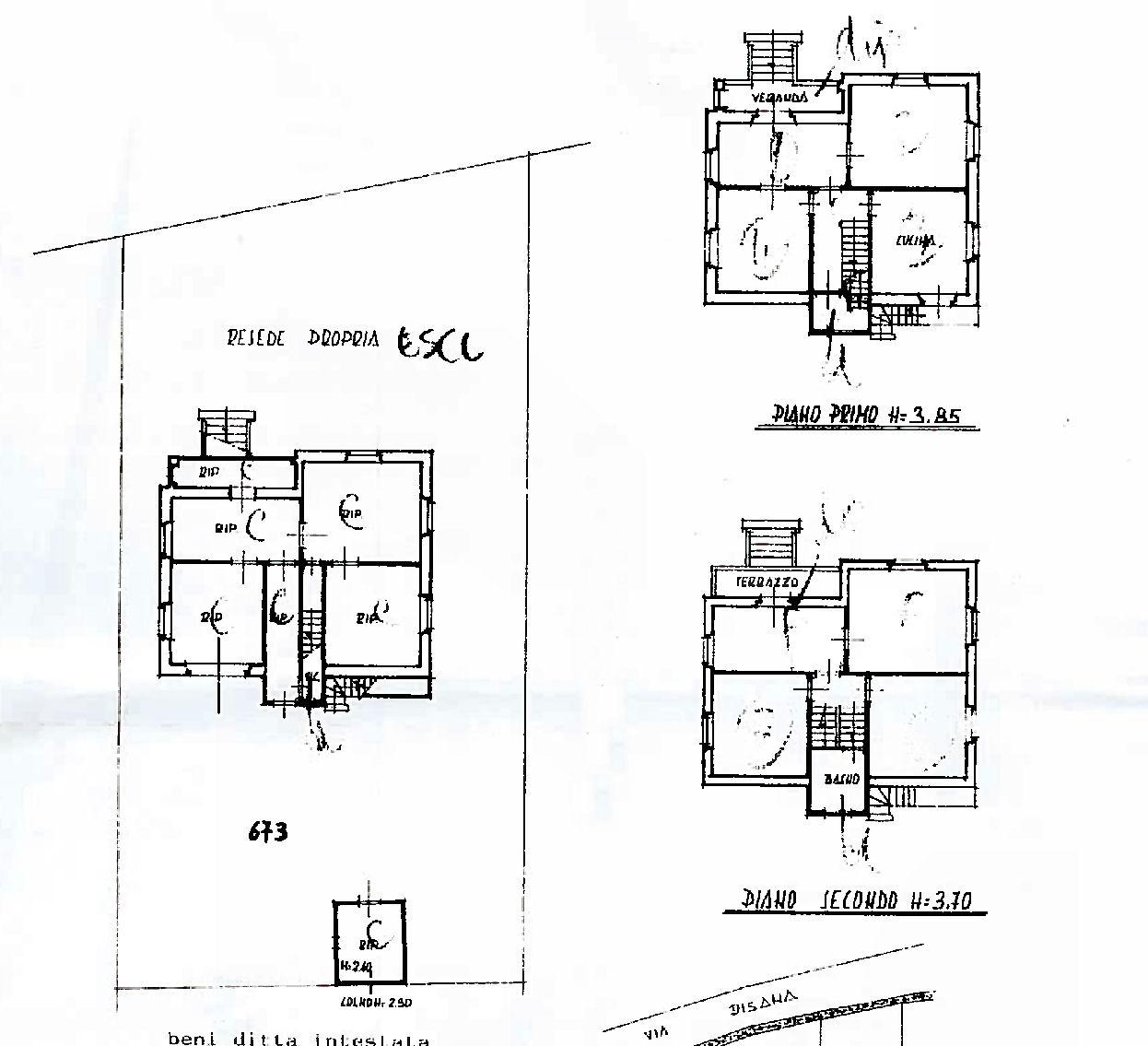 Villa singola in vendita, rif. 02480 (Planimetria 1/1)