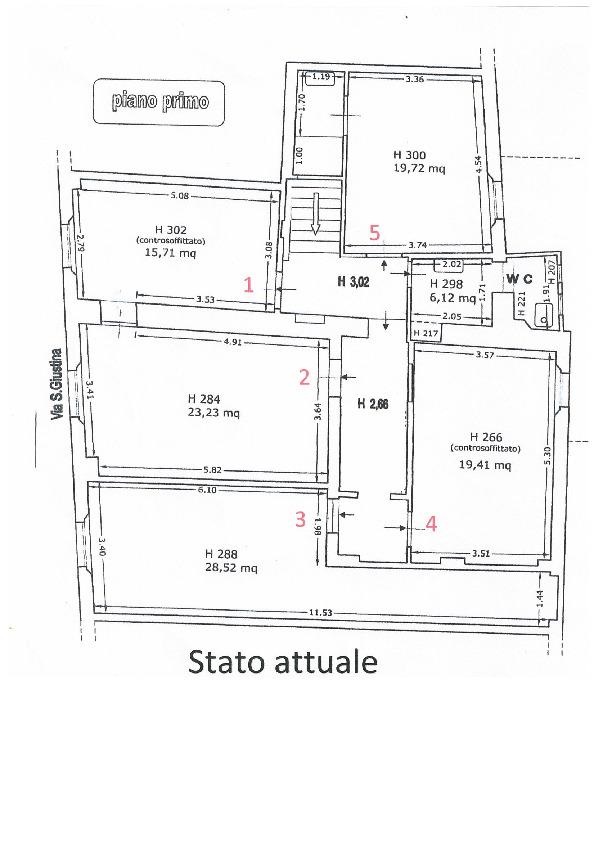 Appartamento in vendita, rif. 02492 (Planimetria 3/3)
