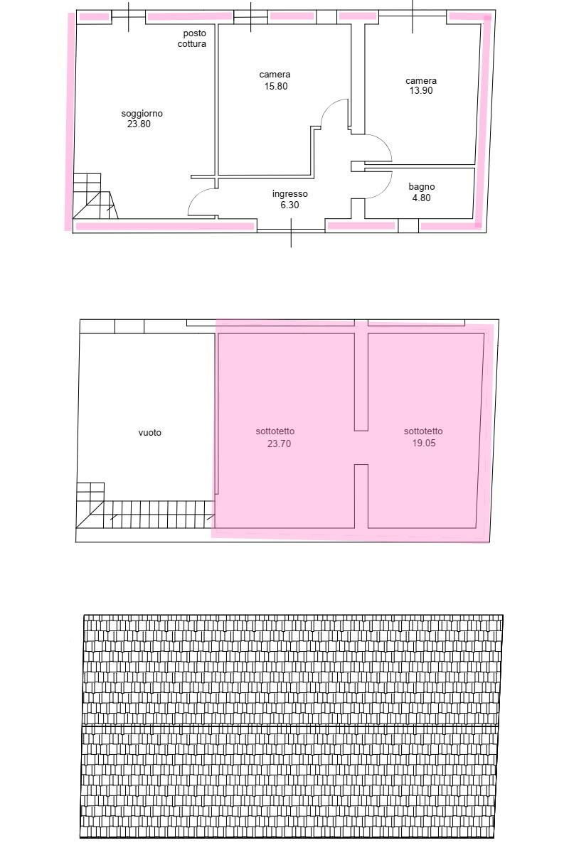 Villetta a schiera angolare in vendita, rif. 02493 (Planimetria 1/1)