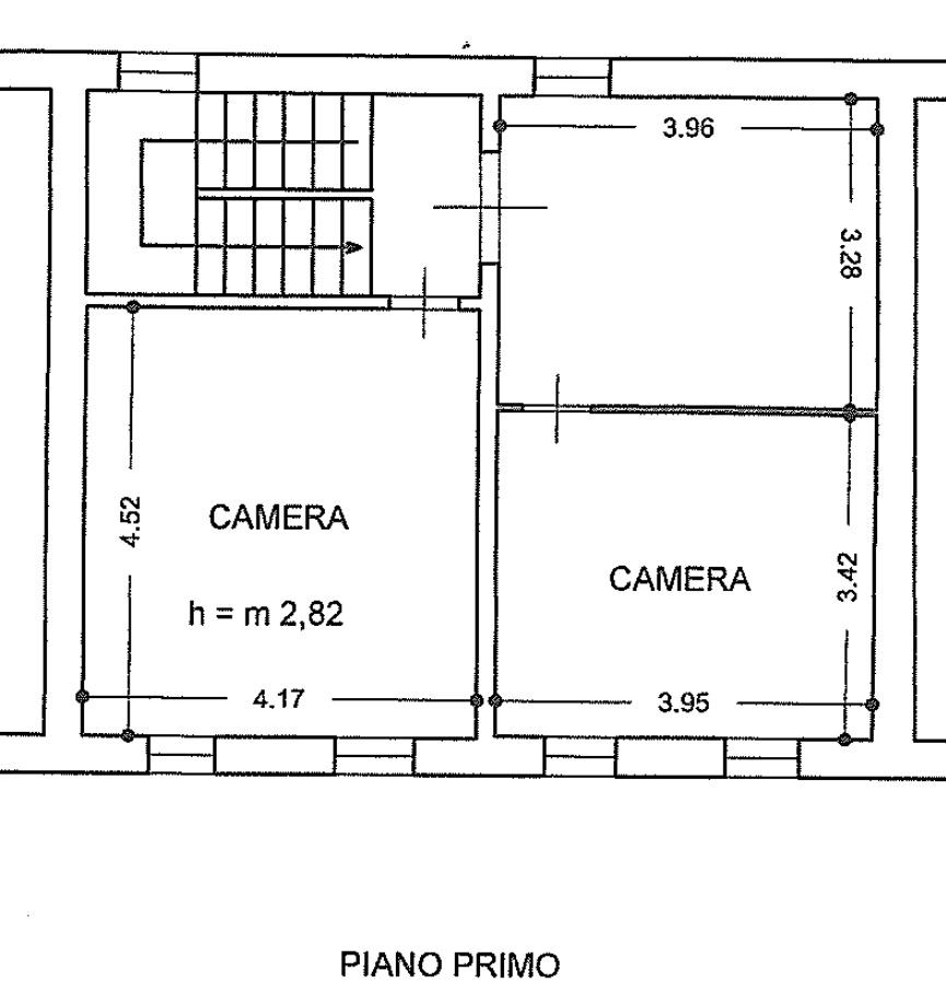 Terratetto in vendita, rif. 02514 (Planimetria 2/4)