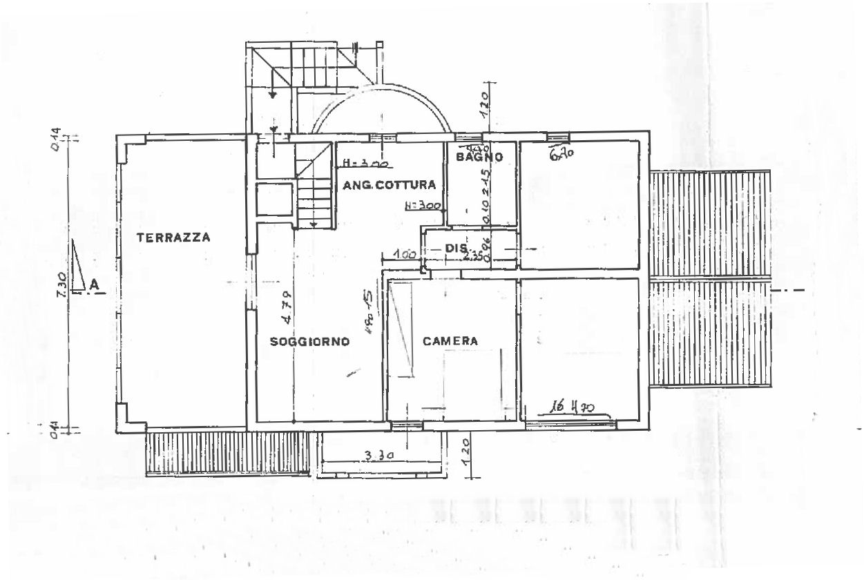 Appartamento in vendita, rif. 02516 (Planimetria 1/1)