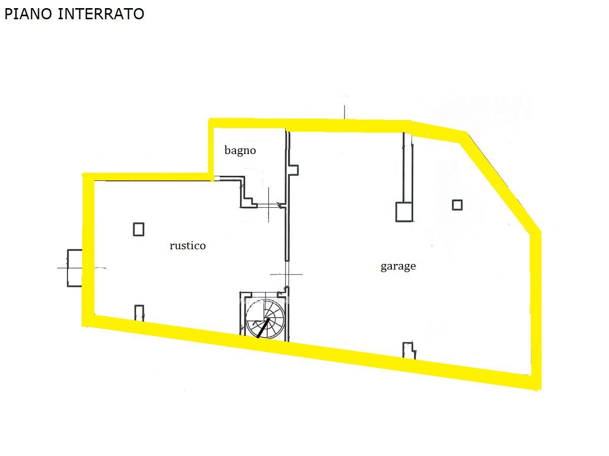 Planimetria 2/2 per rif. 1272