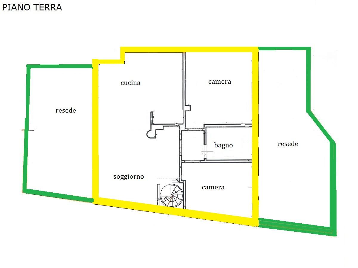 Planimetria 1/2 per rif. 1272