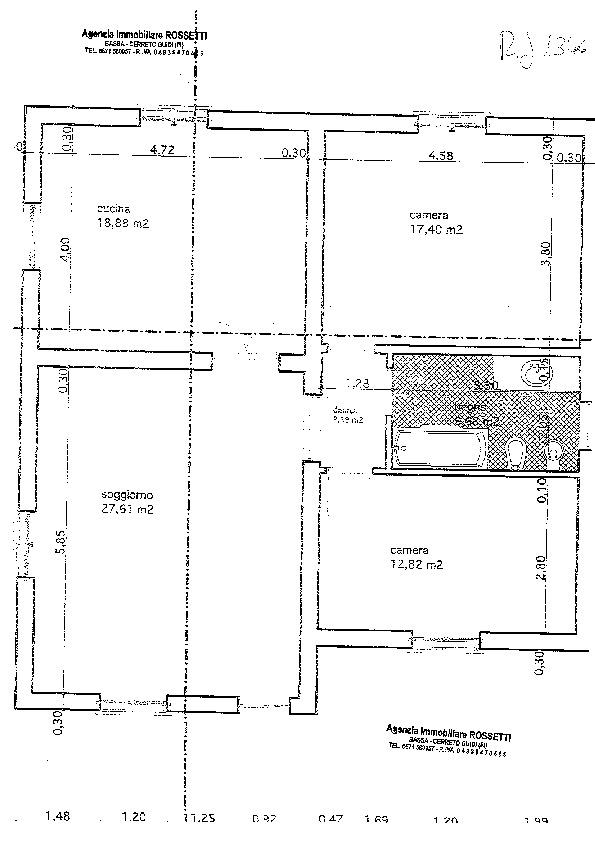 Planimetria 1/1 per rif. 1346