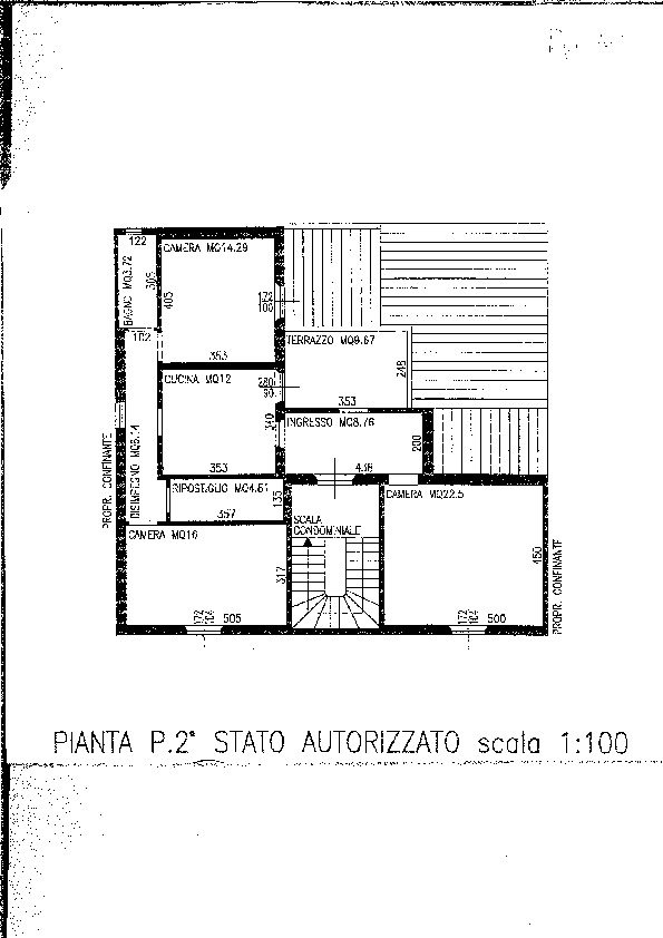 Planimetria 1/1 per rif. 1418