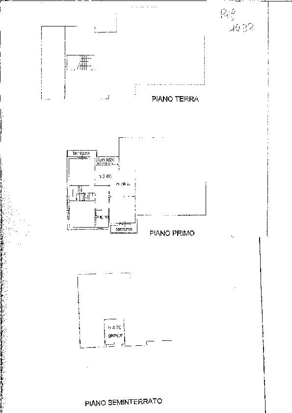 Planimetria 1/1 per rif. 1432