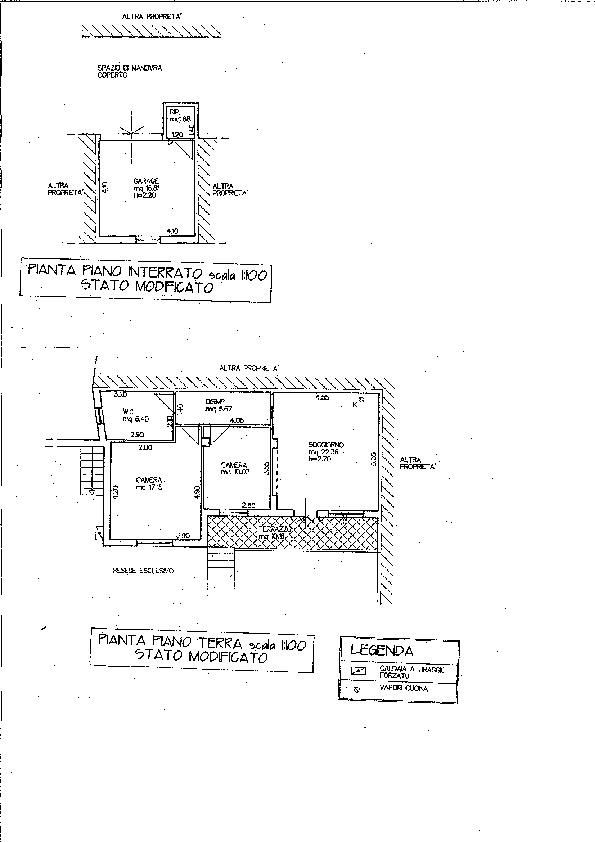 Planimetria 1/1 per rif. 1478