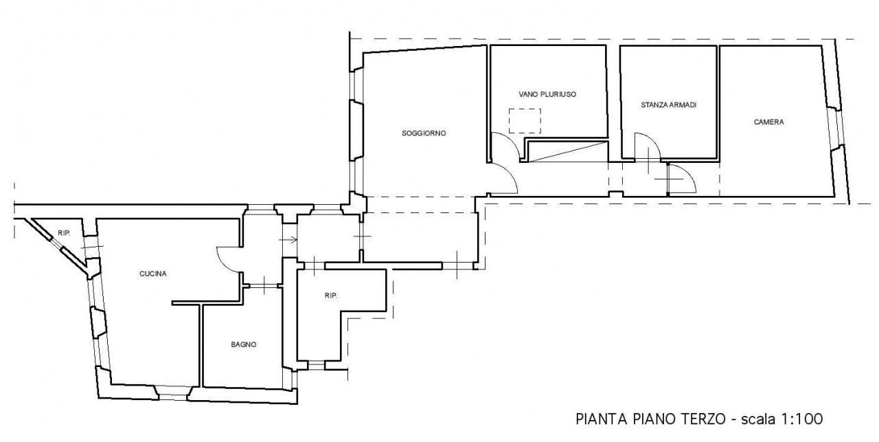 Planimetria 1/1 per rif. E044J