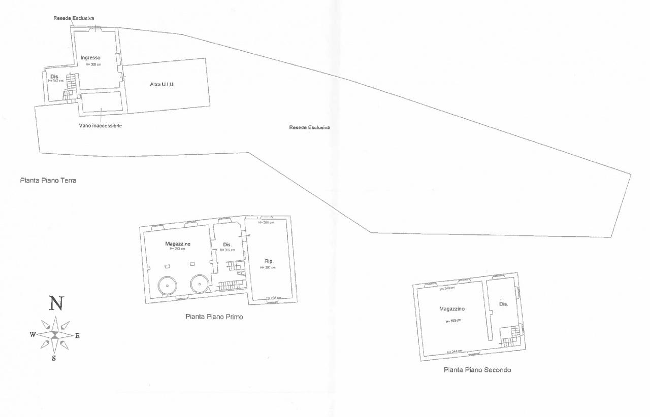 Planimetria 2/3 per rif. N042SU