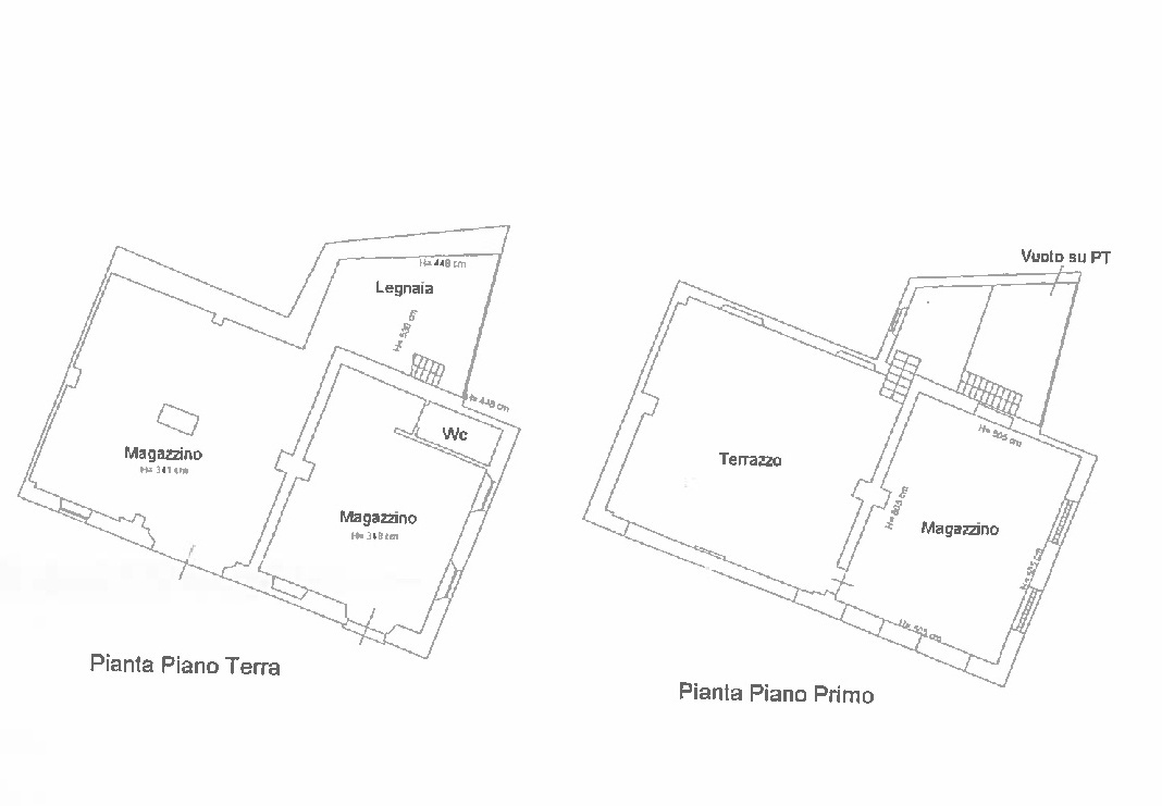 Planimetria 1/3 per rif. N042SU