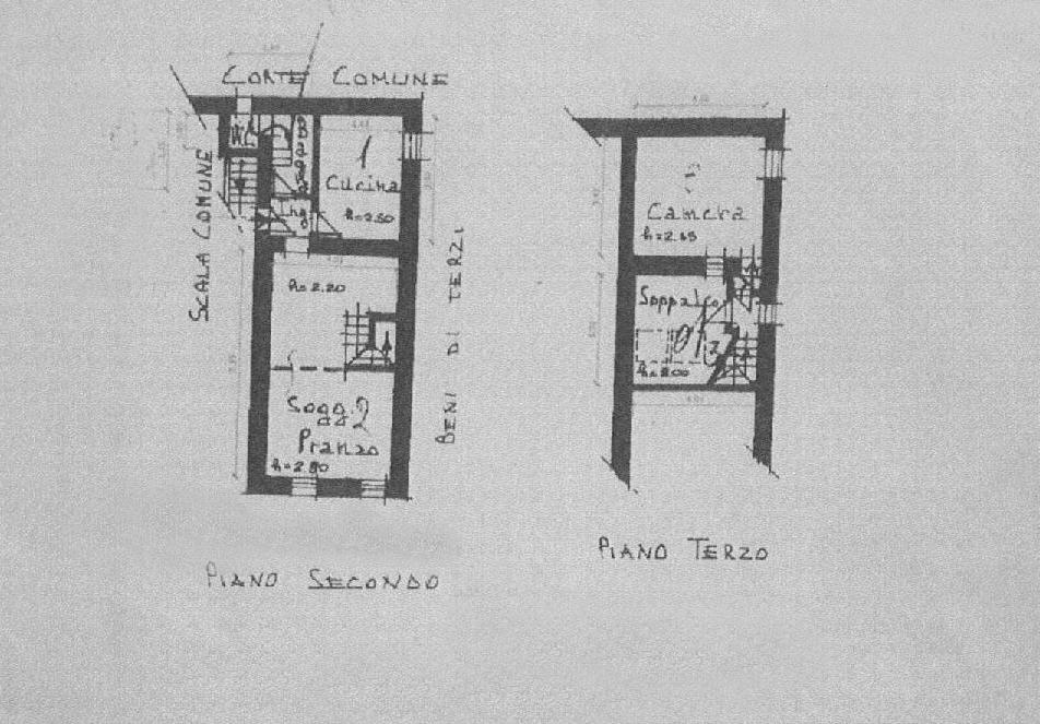 Planimetria 1/1 per rif. E016P