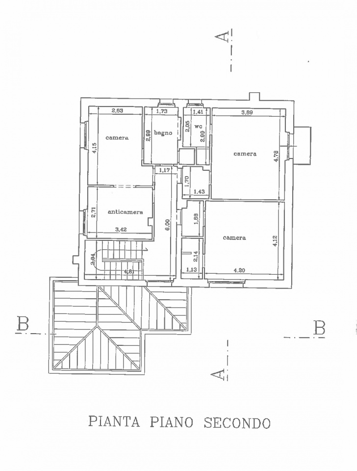 Planimetria 3/3 per rif. PP038S