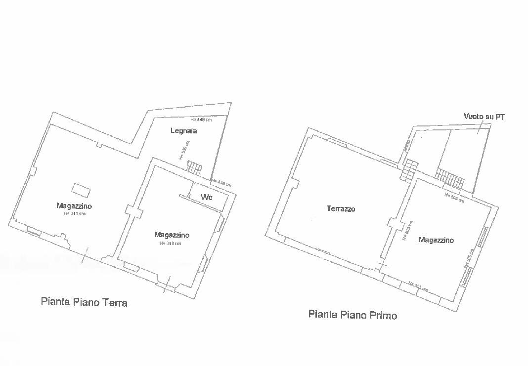 Planimetria 1/2 per rif. N027SU