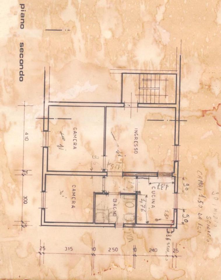 Planimetria 1/1 per rif. P0383SF