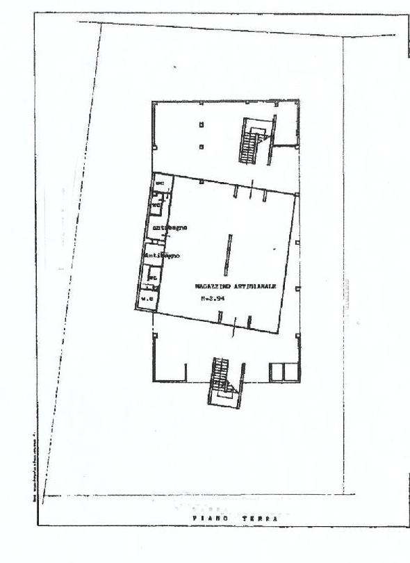 Planimetria 1/1 per rif. F025A