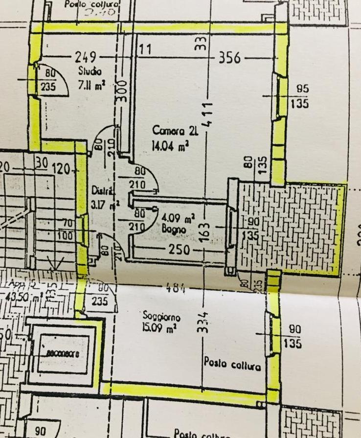 Planimetria 1/1 per rif. E023S