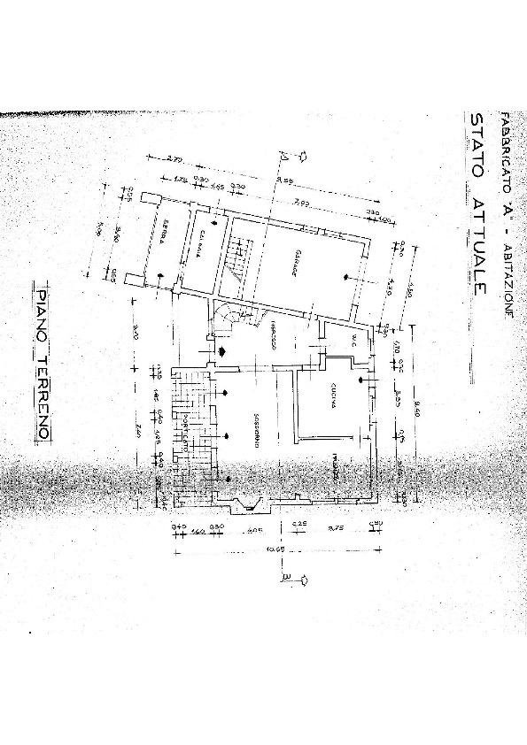 Planimetria 2/7 per rif. E017M