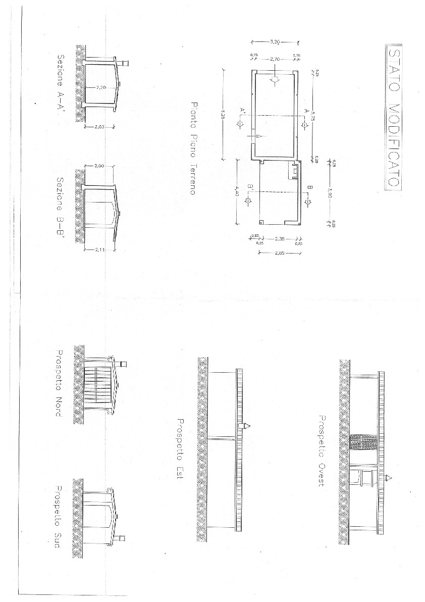 Planimetria 1/7 per rif. E017M