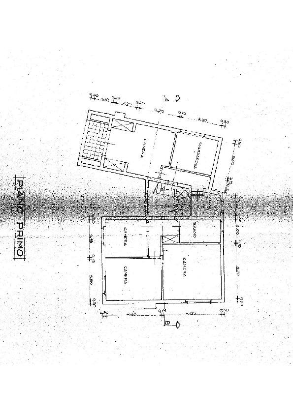 Planimetria 3/7 per rif. E017M