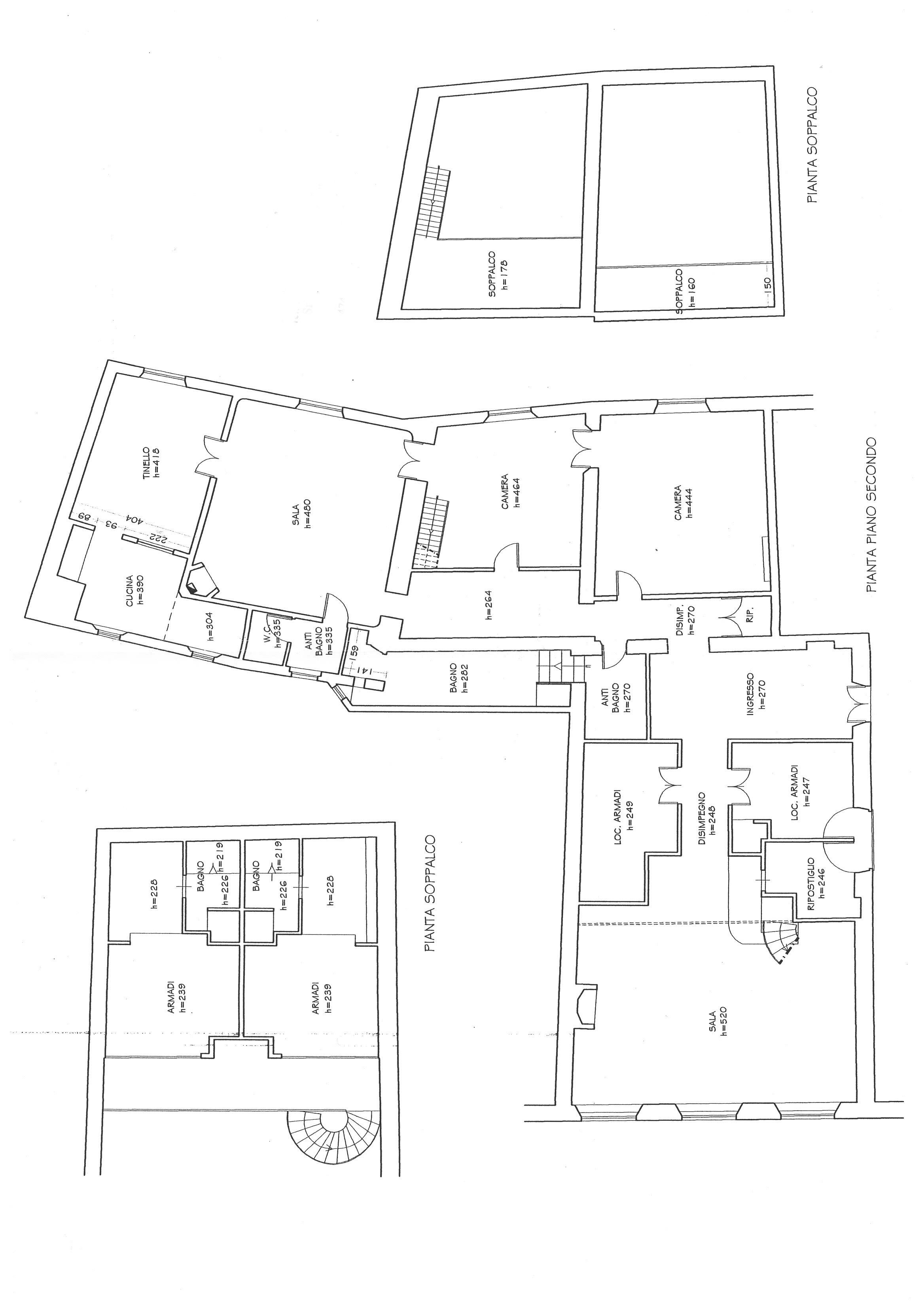 Planimetria 1/1 per rif. N075S