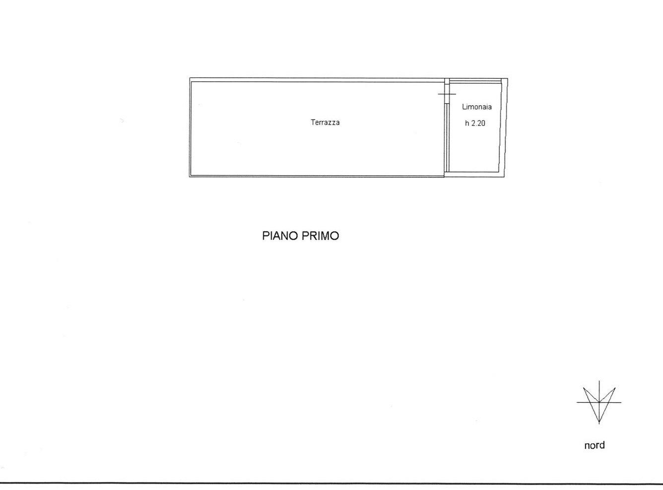 Planimetria 2/2 per rif. E047J
