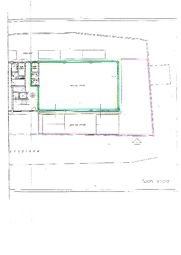 Planimetria 1/1 per rif. F003M