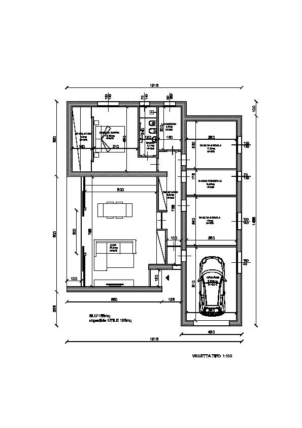 Planimetria 1/1 per rif. N004M