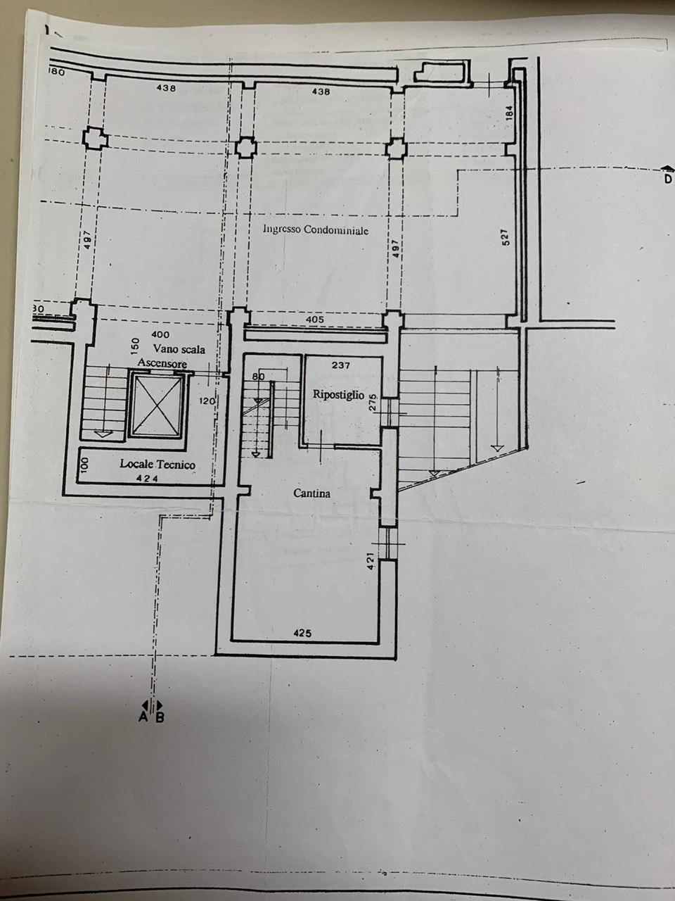 Planimetria 1/2 per rif. E008P