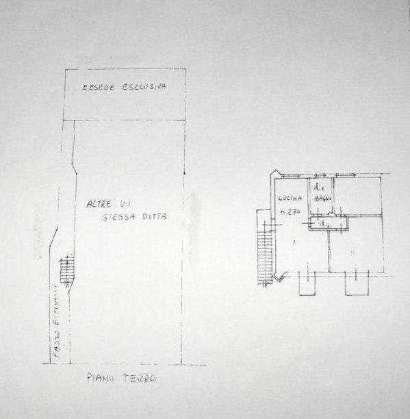 Planimetria 2/2 per rif. E003A