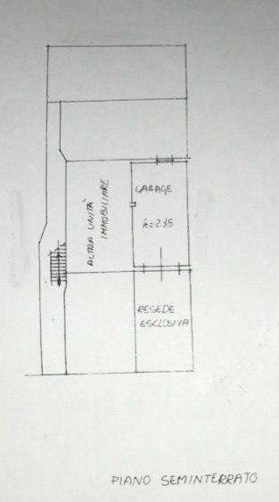 Planimetria 1/2 per rif. E003A