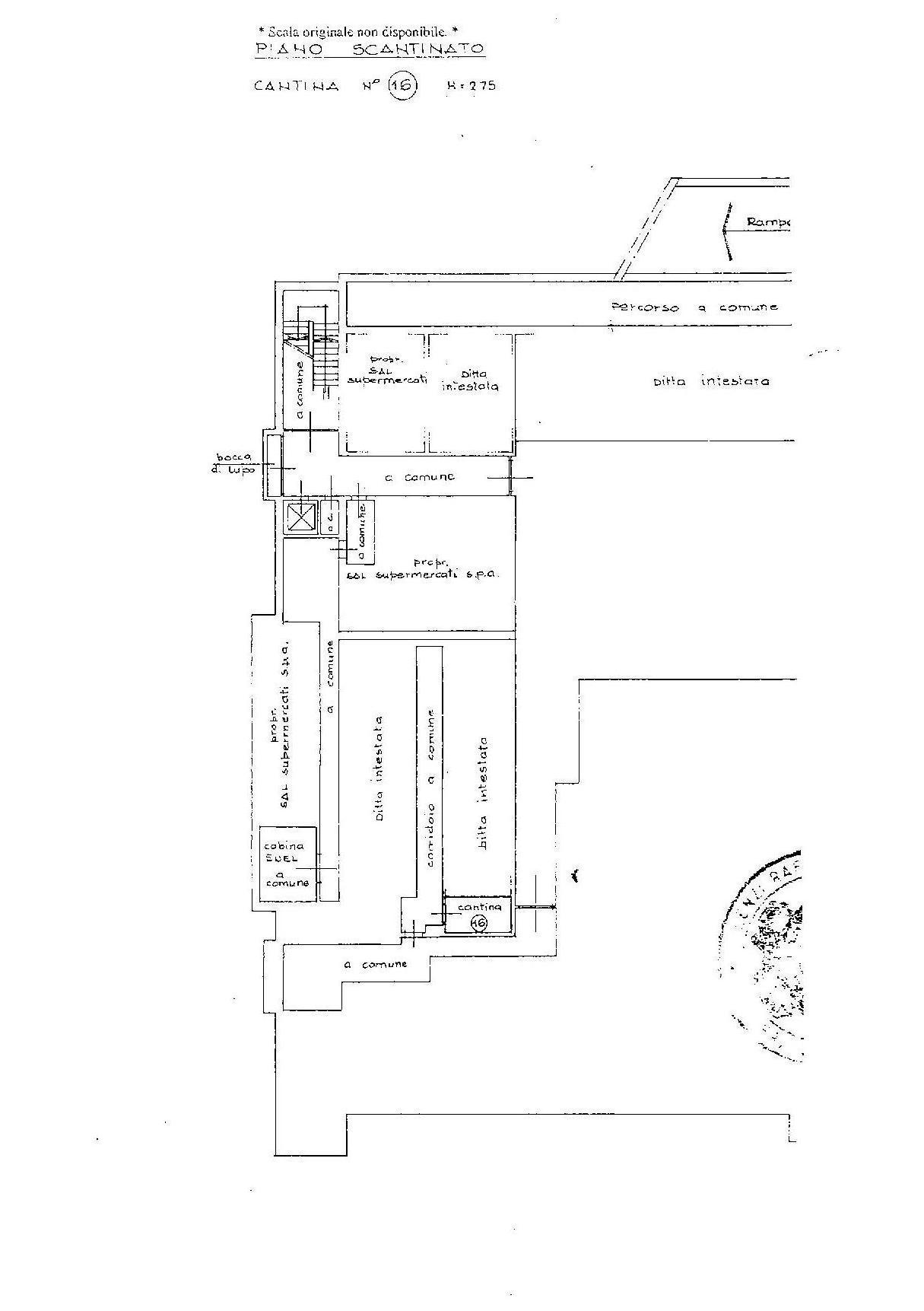 Planimetria 2/3 per rif. E004P